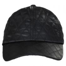 Quilted Satin Baseball Cap alternate view 2