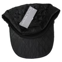 Quilted Satin Baseball Cap alternate view 4