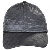 Quilted Satin Baseball Cap alternate view 6