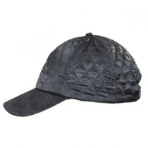 Quilted Satin Baseball Cap alternate view 7