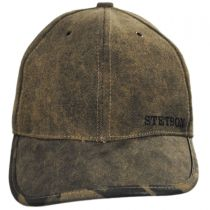 Tarp and Camo Baseball Cap in