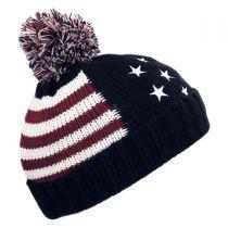 US Flag Beanie Hat alternate view 2