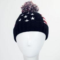 US Flag Beanie Hat alternate view 3