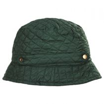 Quilted Rollup Rain Bucket Hat alternate view 3