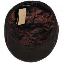 Fashion Wool and Cashmere Blend Ascot Ivy Cap in