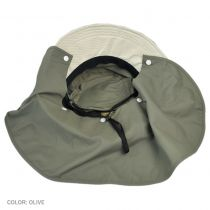 UV Protection Bucket Hat with Detachable Flap