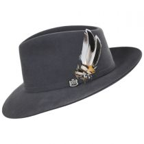 Traveler Wool Felt Fedora Hat alternate view 3