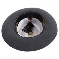 Traveler Wool Felt Fedora Hat in