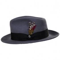 C-Crown Crushable Wool Felt Fedora Hat alternate view 15