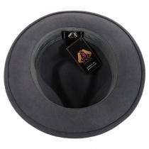 C-Crown Crushable Wool Felt Fedora Hat alternate view 16