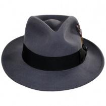 C-Crown Crushable Wool Felt Fedora Hat alternate view 95