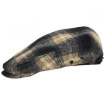 Plaid Wool Blend Ivy Cap in