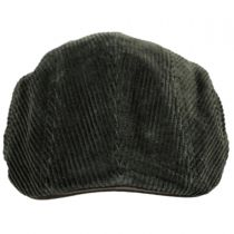 Corduroy Cotton Duckbill Cap in