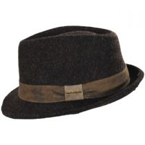 Wool Blend Fedora Hat in
