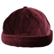 Velvet Cotton Skull Cap in