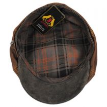 Leather Suede Newsboy Cap alternate view 4