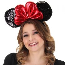 Minnie Mouse Sequin Ears Headband alternate view 2