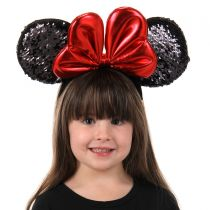 Minnie Mouse Sequin Ears Headband alternate view 3