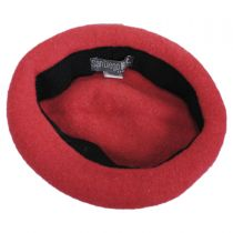 Kids Apple Wool Beret Hat in