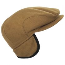 Melton Wool Earflap Ivy Cap in