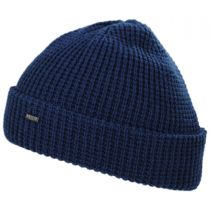 Waffle Wool Blend Beanie Hat alternate view 4