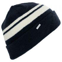 Velvet Cuff Beanie Hat in