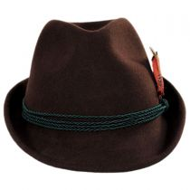 Bavarian Alpine Wool Felt Trilby Fedora Hat alternate view 18