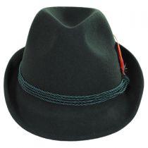 Bavarian Alpine Wool Felt Trilby Fedora Hat alternate view 10
