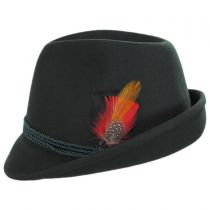Bavarian Alpine Wool Felt Trilby Fedora Hat alternate view 11