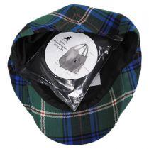 80th Anniversary Pebbles Tartan Wool Ivy Cap in