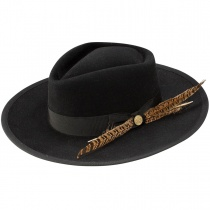 Rockway Wool Blend Crossover Hat in