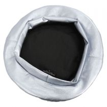 Pleather Beret in