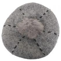 Stitch Pom Wool Beret alternate view 5