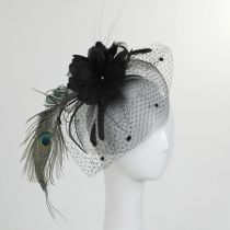 Peacock Fascinator in