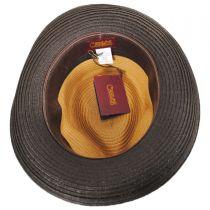 Rue Braid Toyo Straw Fedora Hat in