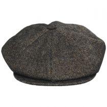 Beech Wool Blend Newsboy Cap in