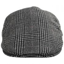 Cashmere and Wool Glencheck Ivy Cap in