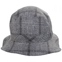 Hardy Plaid Wool Blend Bucket Hat alternate view 6