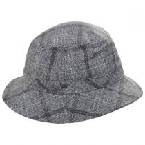 Hardy Plaid Wool Blend Bucket Hat alternate view 7