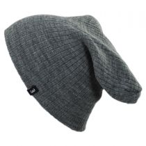 Oversized Ribknit Beanie Hat in