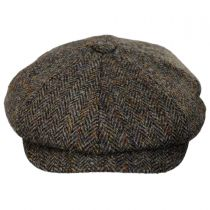 Harris Tweed Northbay Wool Newsboy Cap in