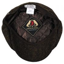 Harris Tweed Arnol Wool Newsboy Cap alternate view 4