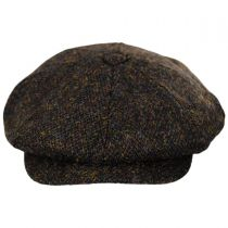 Harris Tweed Arnol Wool Newsboy Cap alternate view 9
