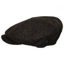 Harris Tweed Arnol Wool Newsboy Cap alternate view 17