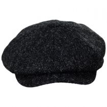 Harris Tweed Taransay Wool Newsboy Cap alternate view 2