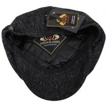 Harris Tweed Taransay Wool Newsboy Cap alternate view 4