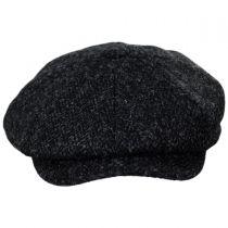 Harris Tweed Taransay Wool Newsboy Cap in