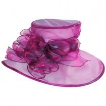 Laurelie Organza Boater Hat alternate view 2