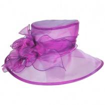 Laurelie Organza Boater Hat alternate view 6