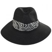 Khumba Toyo Straw Fedora Hat alternate view 2